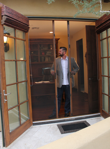 Alexander custom screens retractable screen systems for for What is the best retractable screen door