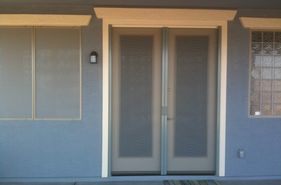 Alexander custom screens retractable screen systems for for Custom sliding screen doors